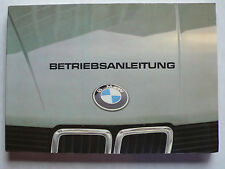Betriebsanleitung/Serviceheft - BMW E28 - 518, 520i, 525i, 528i, 8.1981, 200 S.