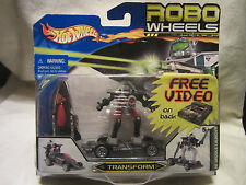 New Hot Wheels Robo Wheels Transformer  NI: Missile Launcher w/Video