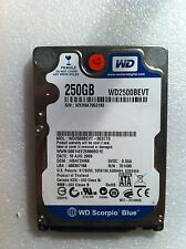 Hard Disk Drive HDD spares parts FAULTY 250GBWESTERN DIGITRAL WD2500BEVT 00ZCT0