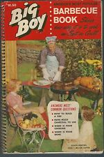 Big boy barbecue book shows how easy it is to cook on a spit or grill sc 1963