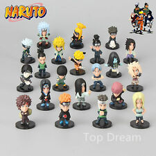 Anime Set 21 Pieces Naruto Shippuden PVC Toy Figure Figurine Doll Great Gift New