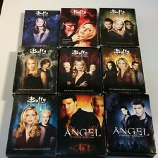 BUFFY THE VAMPIRE SLAYER SEASONS 1-7 AND ANGEL SEASONS 2,5 (DVD)