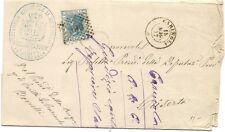 P8856   Caserta, Carinola, annullo numerale a punti + DC piccolo, 1877