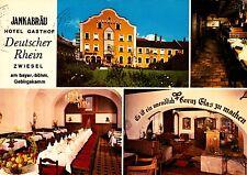 Zwiesel ,Gasthof Deutscher Rhein, Ansichtskarte , gelaufen
