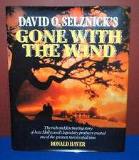 HARD COVER DAVID O. SELZNICK'S GONE WITH THE WIND BOOK BY RONALD HAVER E3
