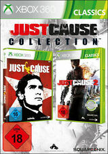 Microsoft XBOX 360 Spiel Just Cause Collection * Just Cause 1 + 2 *****NEU*NEW18