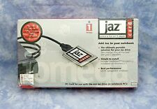 new sealed IOMEGA JAZ Card / PCMCIA to Fast SCSI II Adapter / 10450 /  3521