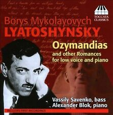 Ozymandias & Other Romances for Low Voice & Piano, New Music