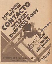Z8550 CONTACTO - Pubblicità d'epoca - 1931 Old advertising