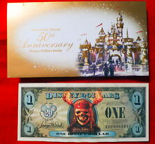 VHTF Mint Disney Dollars Pirates of the Caribbean One Disney Dollar 2007 Series