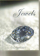 CHRISTIE'S JEWELS Boucheron Cartier Faberge Wittelsbach Diamond Auction Catalog