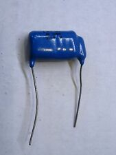 (NOS) Potter 314648 1 MFD 20% 82 OHMS 200V R Single Blue Vintage Capacitor