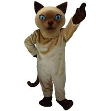 Siamese Cat Professional Quality Mascot Costume Adult Size Made in America