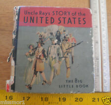 Uncle Ray's Story of the United States BLB Big Little Book 1934