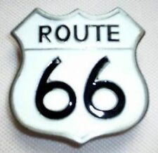 Gürtelschnalle Route 66 weiß Mother Road America's Mainstreet Chicago Buckle