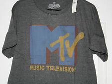 New Vintage Style GAP MTV T-Shirt Authentic Collection Large Tee MSRP 26.99 NWT