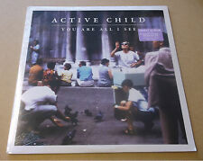 ACTIVE CHILD You Are All I See 2011 US vinyl LP + MP3 SEALED