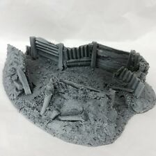 Javis Battle Zone Resin Trench Type 3. War Gaming. 1/72,1/76 20mm Scale. BZT3