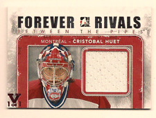 CRISTOBAL HUET IN THE GAME ITG FINAL VAULT GAME USED JERSEY 1/1