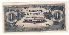 $1 Malaya Japanese Invasion Money (JIM), prefix MO (UNC)