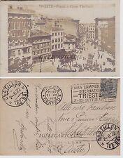 TRIESTE: Piazza e corso Garibaldi    1922