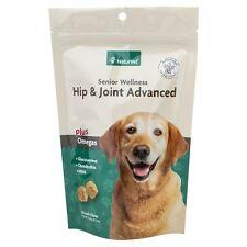 NaturVet Senior Dog Hip & Joint Advanced Formula Soft Chews Glucosamine 120 ct