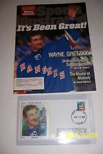 1999 Sports Illustrated WAYNE GRETZKY Retires + Silk Cachet IT'S BEEN GREAT