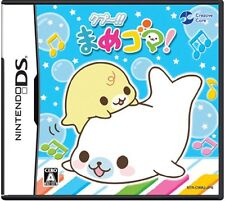 Used Nintendo DS Qupu!! Mame Goma! Japan Import (Free Shipping)