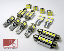 INTERIOR LED SMD Bulbs KIT WHITE CAN BUS fit Vauxhall Vectra B