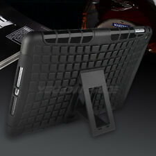 2 in 1 Defender Tough Back Case with Kickstand for Apple iPad Air 2 / iPad 6