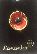 3D Poppy Recollections Lapel Pin* Remembrance Day * Memorial Day * ANZAC Day