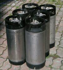 6x 19L Cornelius Kegs /corney keg/ PIN LOCK ideal für Bier und Wein