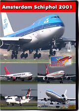 Amsterdam Schiphol Airport 2001 DVD NEW Highball Planes MD-11 B707 767 747 KLM