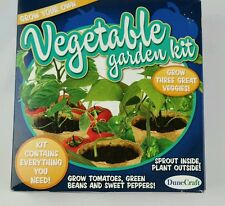 Dune hill Vegetable garden kit sprouting tray, peat moss pots germination disks