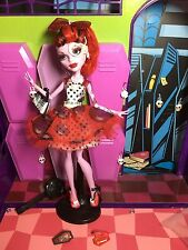 Monster High Doll - Operetta - Dot Dead Gorgeous - Stand - Great Condition