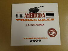 DIGIPACK CD / AMERICANA TREASURES SAMPLER - 2007-2008