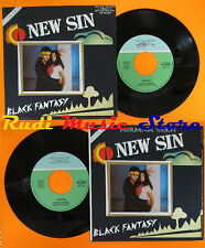 LP 45 7'' NEW SIN Black fantasy 1985 italy HOLLY HR 26006 italo disco cd mc dvd