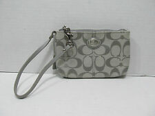 COACH SUTTON SIGNATURE TIE BACK SMALL  WRISTLET 48370