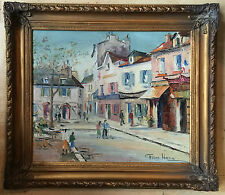 George Hann 1900–1979  oil painting on canvas signed framed
