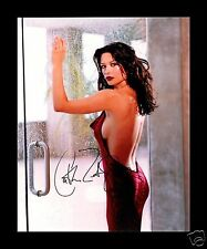 CATHERINE ZETA JONES AUTOGRAPHED SIGNED AND FRAMED PP PHOTO POSTER