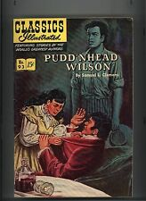 CLASSICS ILLUSTRATED #93 FINE+ ORIGINAL PUDD'NHEAD WILSON