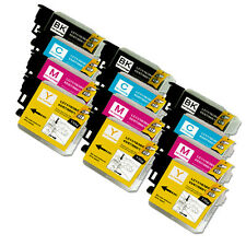 12 PK NEW Premium Ink Set for Series LC61 Brother MFC J410w J415w J615W J630W