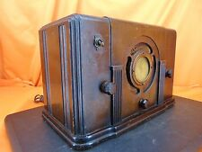 Vintage 1934 PACKARD BELL 35A Tabletop Wood TUBE RADIO ~ COLLECTOR QUALITY HERE!
