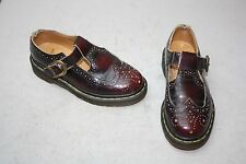 Vintage Doctor Martens T Strap Mary Jane Shoes US Women Sz 6 England Dr Martin