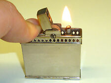 "RONSON ""DEBONAIR"" AUTOMATIC PETROL LIGHTER - 1933 - EXTREMELY RARE - U.S.A."