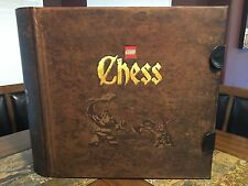 LEGO FANTASY ERA GIANT CHESS SET 852293 CASTLE GAMES NEVER BUILT VERY RARE!