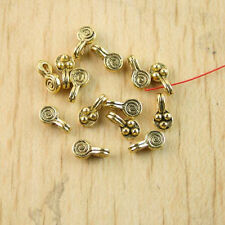 100Pcs dark gold-tone lollipop charms Findings h1303