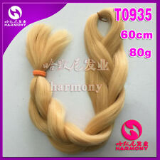 "24"" Blonde Kanekalon Jumbo Braiding Synthetic Hair Extension Twist Braids 80g"