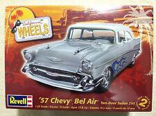 Revell '57 Chevy Bel Air Two Door Sedan 2N1 1/25 Scale Model Car Kit 85-4251