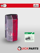 RED & CLEAR SIDE REAR MARKER LAMP LIGHT/ CARAVAN / MOTORHOME/TRAILER-JOKON SPL07